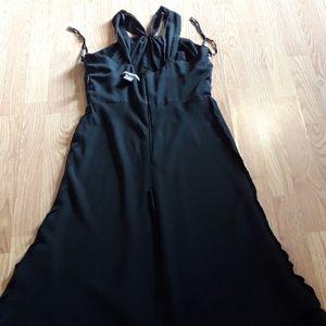 Jones Wear black evenjng dress never worn
